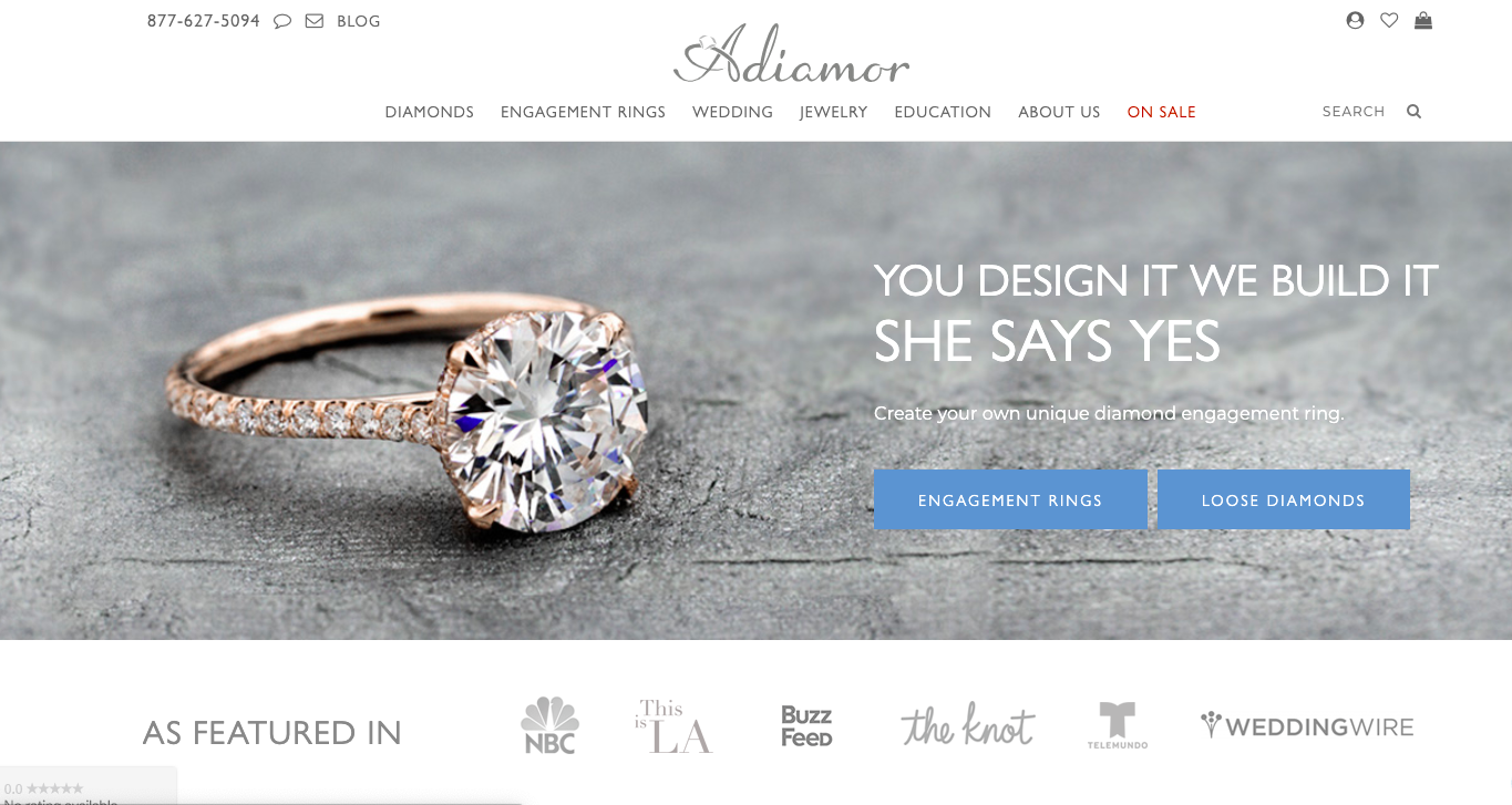 Ecommerce store running on ads